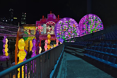 Entrance Walkway (chooyutshing) Tags: entrancewalkway lanternthemeset lightedup display riverhongbao2018 thefloatmarinabay chinesenewyear lunarnewyear yearofthedog festival attractions marinabay singapore