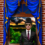 The man with the bowler hat - Tribute to René Magritte thumbnail
