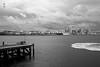 Devonport Jetty in B&W (A. Wee) Tags: auckland newzealand nz 奥克兰 新西兰 devonport jetty bw blackwhite 黑白