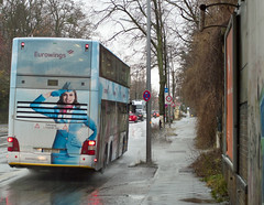 BVG Berlin Werbung Bus  2018 (rieblinga) Tags: bvg berlin werbung bus eurowings man doppeldecker 2018