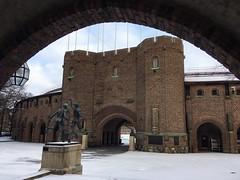 Stadion (brimidooley) Tags: olympics stockholm city citybreak travel europe sweden zweden szwecja schweden schnee sneeuw snow snö sne suecia suède sverige scandinavia winter hiver stoccolma estocolmo