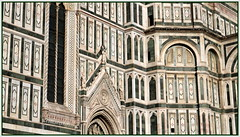Geometrie rinascimentali - Renaissance geometries (Raffa2112) Tags: firenze florence marmo santamariadelfiore basilica geometrie cathedral marble geometries patterns architettura canoneos750d raffa2112 architecture
