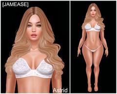 [JAMEASE] - Astrid Shape (Jammy Jam Jam) Tags: jamease astrid mesh shapes secondlife pretty ebody curvy lelutka may bentoribbet