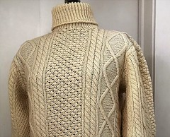 Aran turtleneck fisherman wool sweater (Mytwist) Tags: greenhilltraders barnas mor donegal aran irish hand knit wool fisherman sweater ireland woolfetish turtleneck fashion fair fetish design dublin style craft cozy chunkysweater bulky retro aranstyle