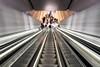 2018_Jan_NZLijn-975 (jonhaywooduk) Tags: subway amsterdam design architecture tunnel rokin vizelgraacht turnstile escalator