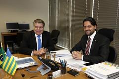 13/01/2018- Ministro Sarney Filho (MMA) se reuniu com o Ministro das Cidades Alexandre Baldy. (Sarney Filho) Tags: 13012018 ministro sarney filho mma se reuniu com o das cidades alexandre baldy