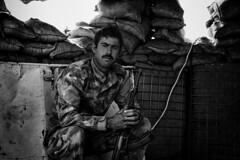 A young peshmerga (rvjak) Tags: irak peshmerga iraq middleeast moyenorient d750 nikon weapon arme kalachnikov ak47 guard black white war noir blanc guerre bw isis kurdish kurdistan kurde soldier soldat