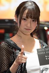 TAS2018 (byzanceblue) Tags: woman futon cosplayer racequeen girl female cute pretty tas2018 daihatsu nikkor tokyoautosalon