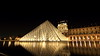 Louvre In the Mirror (Eye of Brice Retailleau) Tags: angle beauty composition landscape panorama paysage perspective scenery scenic view vanishing point backpacking wideangle architecture bâtiment europe france paris french brown beige colour colourful reflection reflet mirror louvre museum musée pyramid pyramide night nighttime nightscape nuit water waterscape