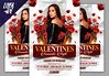 Valentines Flyer Template (lobaide) Tags: valentine valentinesday happyvalentinesday rose romantic romance flyer flyertemplate february affair loveaffair nightclub love clean card club couple creative postcard grettingcard invitation dating day ads advertising vday red poster party promotor event elegant sexy template valentines