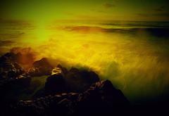 Sunrise Sea of shrieking (chikaraamano) Tags: sea mist morning strange wave illusion rock winter coldly sacred sunrise sky red yellow blue white orange brown dawn innocently refreshing crucible excitement wonderfulmoment carousel universe nice time spacehypnotized outdoor nature cloud horizontal