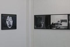 (Blufuliggine) Tags: exibition berlin art photography people bw blackandwhite europe gallery germany de 2018 portrait white haus swarzenberg culture analog follow canon woman shadows kreuzberg travel visitberlin