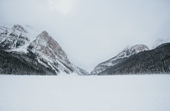 classic lake louise (kbarker) Tags: canon6d alberta banff lake louise mountains rocky winter