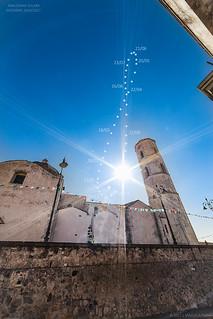Solar Analemma over Serramanna