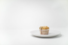 High Key Redo (Pittypomm) Tags: redo52 2018 highkey high key muffin blueberry drip plate white food negativespace
