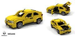 Renault Mégane Coupe (MkI - 1996) (lego911) Tags: renault megane mki coupe 3door 3dr hatch hatchback 1996 1990s france grench auto car moc model miniland lego lego911 ldd render cad povray x64 mégane