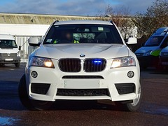 West Midlands Police Unmarked BMW X3 Driver Training Unit, Birmingham. (Vinnyman1) Tags: west midlands police unmarked bmw x3 driver training unit dtu bronze commandt emergency services service rescue 999 central england uk united kingdom gb great britain