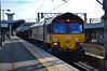 66109 - Nuneaton - 16/02/18. (TRphotography04) Tags: db cargo uk 66109 passes nuneaton working 6v92 1022 corby bsc margam tc