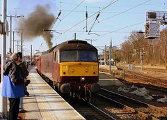 Dufftastic at Norwich (Chris Baines) Tags: wcr 47804 departing norwich ecs off cathedrals express