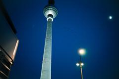 Berlin Funkturm (EISENKIND Visual) Tags: crows tower funkturm berlin birds swarm night