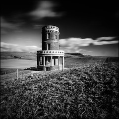 Clavell Tower (The 1 Big Cheese) Tags: clavell tower kimmeridge jurassiccoast leefilters bigstopper longexposureclouds sky grass canoneos5dmarkiii canonef1635mmf4lisusm