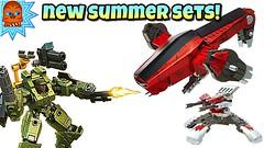 NEW 2018 SUMMER SETS 🔴 Mega Construx Destiny + Halo Toys! (ChewyBricksTV) Tags: mega construx destiny halo toys toy summer 2018 sets thresher gunship