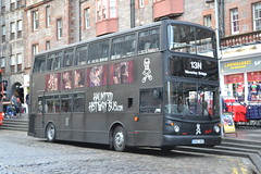 Edinburgh Ghost Bus GH52BUS (Will Swain) Tags: edinburgh 25th november 2017 tour bus buses transport travel uk britain vehicle vehicles county country scotland scottish north northern central city centre ghost gh52bus lg52dcf arriva london dla330 capital lothian sightseeing 222 sj16cso
