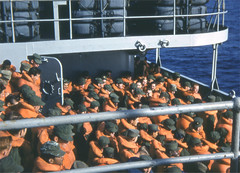Korea121 (Count_Strad) Tags: korea korean war koreanwar south southkorea infantry soldiers soldier boat transport