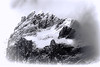 Peaks, snow and clouds (Bloody Nick) Tags: mountains mountain antelao clouds snow peaks landscape mountainside sky rock bw parconaturaleregionaledelledolomitidampezzo
