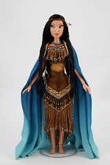Pocahontas Limited Edition 16 inch Doll - Disney Store Purchase - Deboxed - Standing - Cape Closed - Full Front View (drj1828) Tags: pocahontas disneystore us limitededition 16inch doll le4500 posable instore purchase 2018 collectible animated deboxed standing