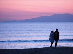 sunset (osanpo_traveller) Tags: japan kamakura shonan beach sunset olympus em1 mzuiko 40150mm