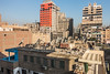 20171226 Cairo, Egypt 08329-34 (R H Kamen) Tags: cairo egypt egyptianculture middleeast northafrica architecture buildingexterior cityscape day orange outdoors rhkamen roof satellitedish