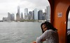 20171008_064 Staten Island Ferry USA Yhdysvallat New York City NY Manhattan Skyline (Frabjous Daze) Tags: usa us yhdysvallat america amerikka newyork newyorkcity nyc ny gotham gothamcity bigapple city statenislandferry statenisland ferry lautta manhattan skyline lowermanhattan downtownmanhattan skyscraper highrise pilvenpiirtäjä