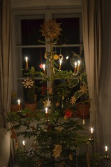 The 2017-tree (monika & manfred) Tags: mm stlambrecht tree 2017tree xmas christmas austria decorations candles beeswax scent