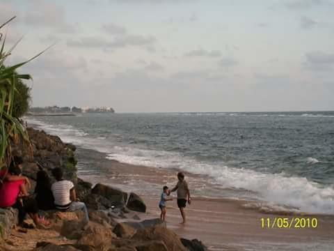 Wellawatta beach, Colombo