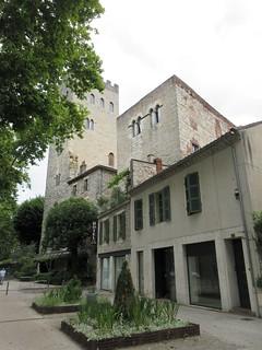 Hôtel Jean XXII and Palais Duèze, Cahors, France