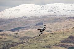 MRM35 RAF Tornado GR4, Cad West 5/2/18 (mike.keightley) Tags: aircraft gr4 mountains snow wales machloop military aviation marham tonka tornado raf