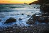 (072/18) Solo un instante (Pablo Arias) Tags: pabloarias photoshop photomatix capturenxd españa mar agua meditarráneo largaexposición playa rocas arena ola calatximo benidorm
