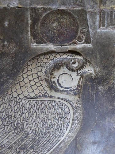 Horus Falcon, Dendera
