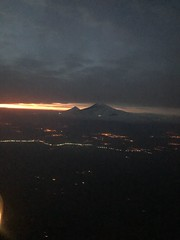 Mount Ararat from Air (Alexanyan) Tags: night flight aegean airlines yerevan armenia athens mount ararat armenian landscape window avia air airways airplane jet airbus sunset sunshine dusk weather cloud cityscape lights hayasdan armenie greek greece αέρα αρμενία πτήση թռիչք