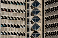 Medical School. (Stefano Perego Photography) Tags: stepegphotography building university concrete pattern brutalism brutalist modernism modernist modern architecture design telaviv israel