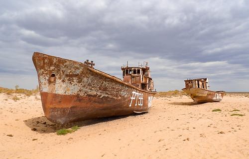 Moynaq, mer d'Aral
