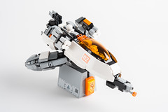 Float Like a Butterfly … (roliathBrickworx) Tags: lego moc afol scifi spaceship space
