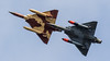 French AF Couteau Delta Dassault Mirage 2000D 652 '3-XN' and 618 '3-XC' (Hugh Dodson) Tags: airshow fairford riat2017 frenchaf couteaudelta dassault mirage2000d 652 3xn 618 3xc