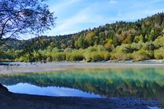 Der Lech - Lech River (ivlys) Tags: deutschland allemagne germany bayern allgäu füssen stadt city lech fluss river landschaft landscape natur nature ivlys