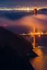 Golden Gate Bridge Low Fog (alittlegordie) Tags: fog golden gate bridge goldengatebridge ggb