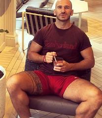 That bulge! (mike--123) Tags: bulge scruff shorts
