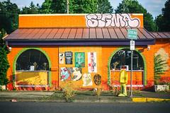 Let's Go Down to Taco Time and Get Some Dinner (Thomas Hawk) Tags: america oregon pdx portland tacotime usa unitedstates unitedstatesofamerica westcoast abandoned closed graffiti restaurant us fav10