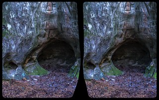 Signs of a »glue« layer 3-D / CrossView / Stereoscopy / HDR / Raw