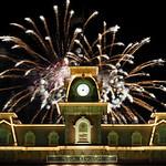 Fireworks Behind Main Street Station thumbnail